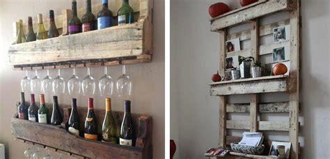estanterias  palets ideas  decorar el hogar