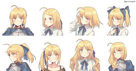 Basic hairstyles for Anime Hairstyles For Girls Top Anime