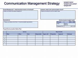 change management communication template - communication plan project communication plan strategy