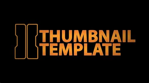 Thumbnail Template Thumbnail Template Black Ops 2 Thumbnail What
