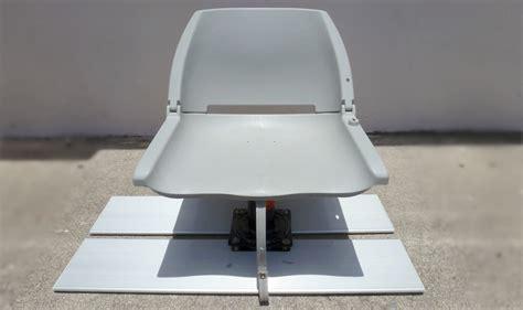 Diy Boat Seat Swivel by Diy Boat Seat Pedestal Diy Do It Your Self