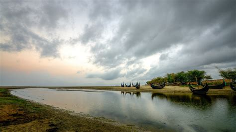 Wallpaper Of Nature by Bangladesh Clouds Lakes Landscapes Nature Wallpaper