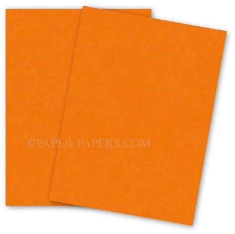 Astrobrights 8.5X11 Card Stock Paper - COSMIC ORANGE ...
