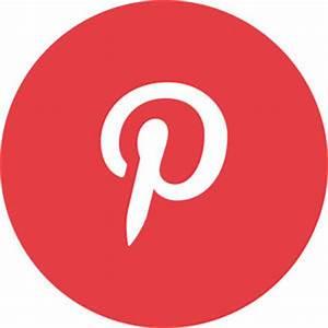 Social Media Icons - Individual (Circular) - Pinterest eBay