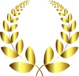 royal blue wedding clipart gold laurel wreath 4 no background