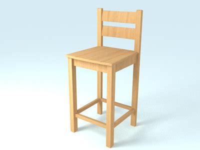 24 wood bar stools wooden bar stool 3d max 3842