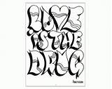Coloring Graffiti Adults Popular sketch template