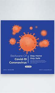 Coronavirus covid-19 awareness post template image_picture ...