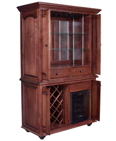 wine furniture cabinets jefferson wine cabinet amish direct furniture