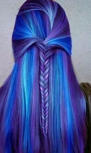 Blaue Haare Ombre : buntes haar tumblr ~ Frokenaadalensverden.com Haus und Dekorationen