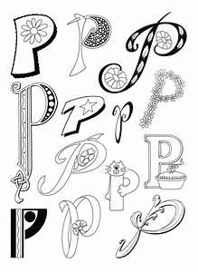 LETTER P | Artful Lettering | Pinterest | Fonts ...