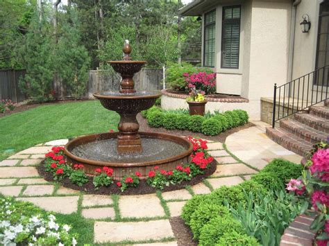 landscape fountains design landscape water fountains is an integral part of yard decoration fountain design ideas