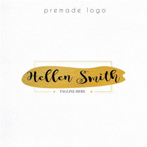 logo design colorful logo premade logo business card