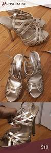 Well Used In Good Condition Aldo 38 Shoes Gold Heels