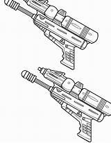 Kolorowanki Pistolet Dzieci Pistole Bestcoloringpagesforkids sketch template