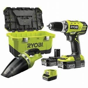 Visseuse A Choc Ryobi : batterie visseuse ryobi 18v ~ Dailycaller-alerts.com Idées de Décoration