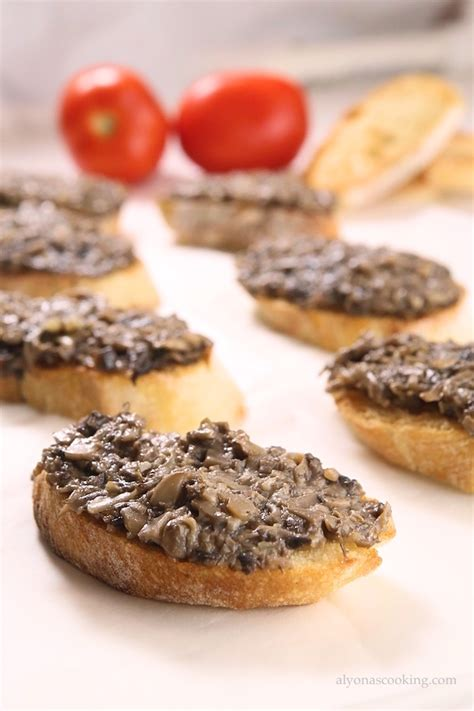 canape spread canapés recipe garlic