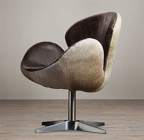 why hair on hide leather is an interior design upholstery