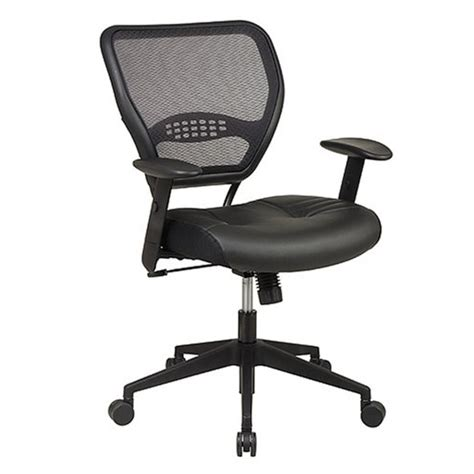 office space professional air grid leather chair