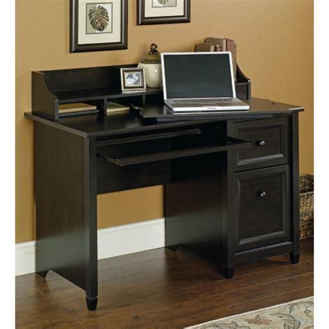 black desk with storage sauder edge water estate black desk with storage 409043