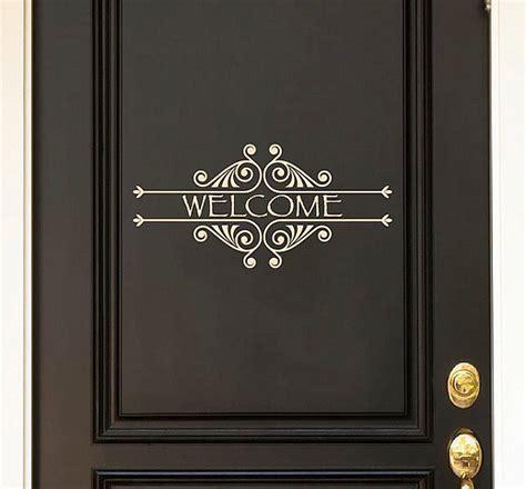 door sticker design door decals give life to your home design