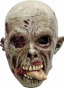 Déguisement Halloween Qui Fait Peur : masque zombie mangeur de chair adulte halloween deguise toi achat de masques ~ Dallasstarsshop.com Idées de Décoration
