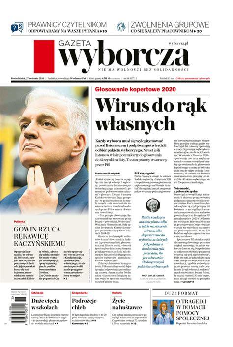 e-Kiosk.pl - Gazeta Wyborcza (Białystok) 27.04.2020 (98)