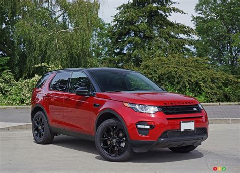 Land Rover Discovery Sport Picture by 2016 Land Rover Discovery Sport Hse Road Test Car