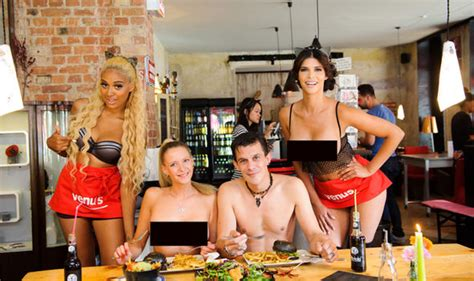The steamy restaurant where clothing is OPTIONAL  Would