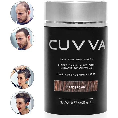 Amazon.com: CUVVA Hair Fibers - Hair Loss Concealer for
