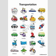 Debbie Sensei  Free Esl Transportation Flashcards  Teaching Ideas  Pinterest  Flashcard, Esl