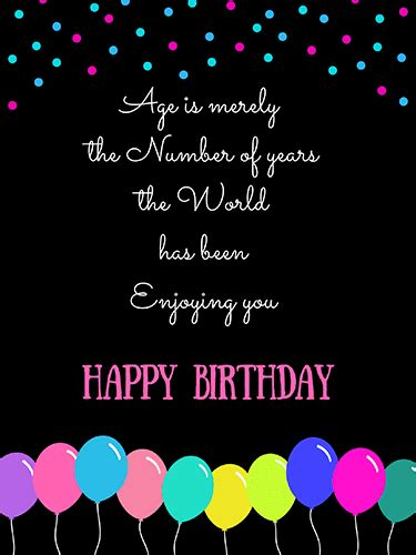 age    number  years  happy birthday
