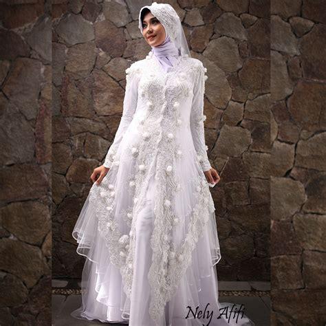 model gaun kebaya muslim  pernikahan baju pengantin