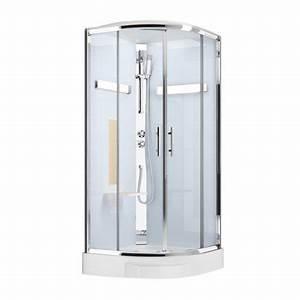 Cabine De Douche 90x90 : cabine de douche 1 4 de cercle 90x90 cm ilia ch ne ~ Dailycaller-alerts.com Idées de Décoration