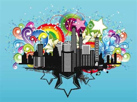 city background designs in vector format that you can use