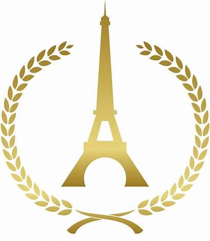 Clipart Tower Eiffel Paris Gold French Street