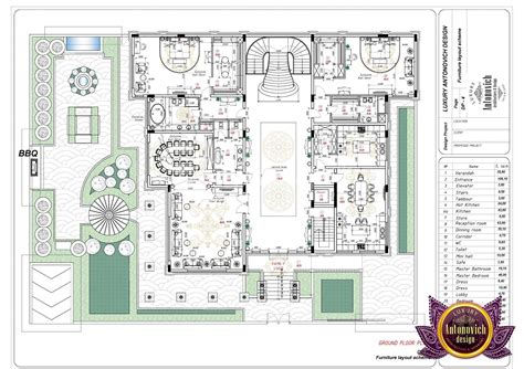 luxe layout  uae antonovich design mansion