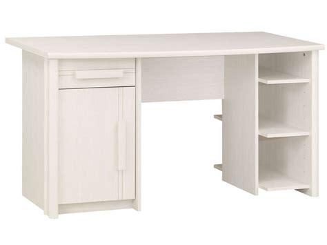 bureau enfants conforama bureau 1 porte 1 tiroir montana coloris frêne blanchi