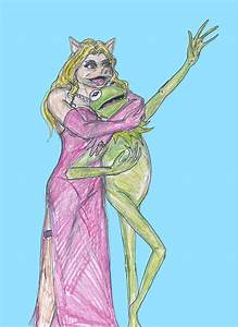 Kermit and Miss Piggy by theaven on DeviantArt