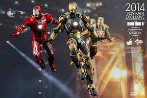 SDCC 2014: Hot Toys Python Iron Man Mark 20 Sixth Scale ...