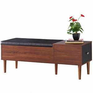 Linden, Wood, Storage, Entryway, Bench, U0026, Reviews