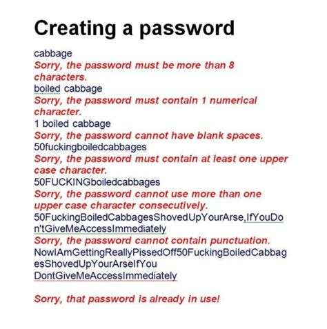 Password Meme - creating a password imghumour