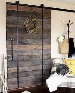 best 25 diy sliding barn door ideas on pinterest With 40 dollar barn door