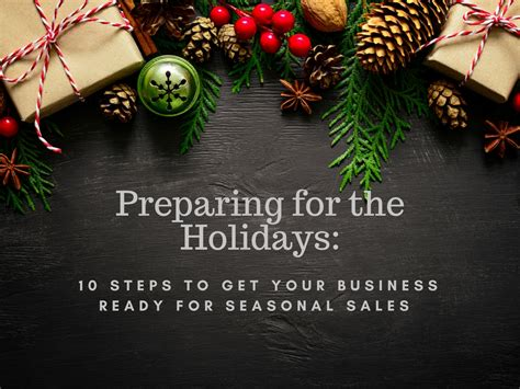 10 Steps To Prepare Your Small Business For The Holiday Season