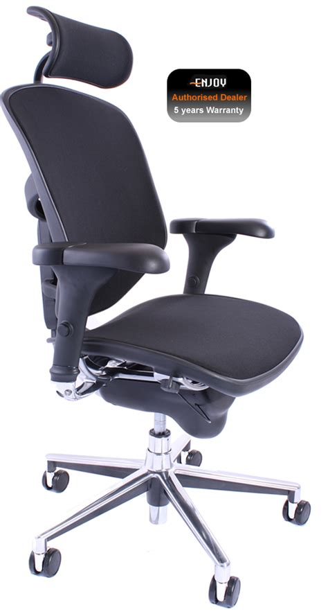 Humanscale Freedom Leather Task Chair by Desk Chair With Headrest Whitevan