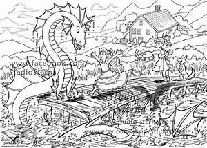 Drachen Schwarz Weiß : wasser drache fantasy zeichnung download datei ausmalen paintings drawings zeichnungen ~ Orissabook.com Haus und Dekorationen