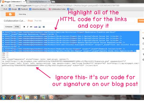 How To Put A Hyperlink In Your Tpt