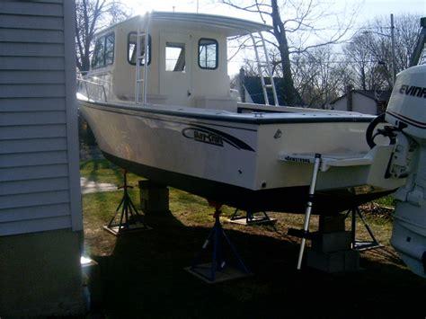 maycraft pilot 2007 boats hull truth 45k