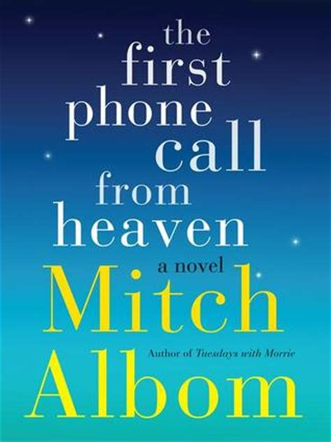 phone call  heaven  mitch albom