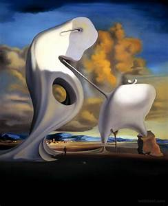 millet architectonic surreal paintings by salvador dali 20